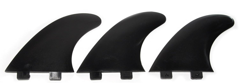 Shapers - Quilla Surf trío Glass Flex modelo E-5 Eurofin - Negra: Amazon.es: Deportes y aire libre