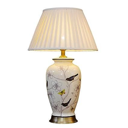 505 HZB Lámpara de Mesa de cerámica Antigua Americana, Villa ...