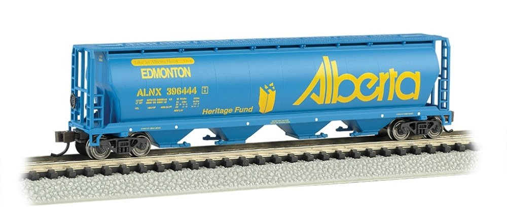 Bachmann Industries Canadian 4-Bay Cylindrical