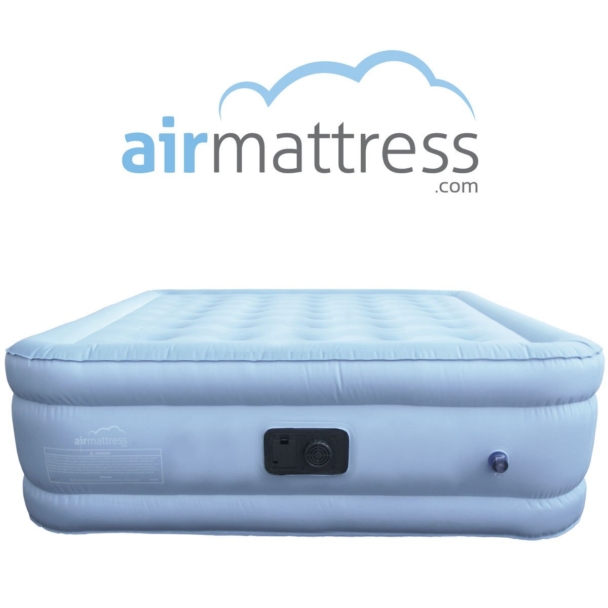 Amazon.com: Air Mattress KING size - Best Choice RAISED Inflatable Bed with  Fitted Sheet and Bed Skirt - Built-in High Capacity Airbed Pump: Home &  Kitchen