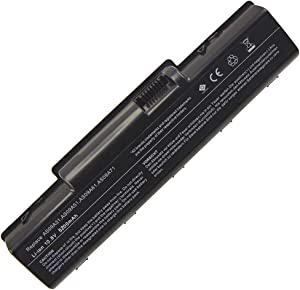 Bay Valley Parts New Replacement Laptop Notebook Battery for Acer AS09A31 AS09A41 Emachine D525 D725 Aspire 5516 5517 5532 5732Z Acer AS09A56 5734 5732 5732G 5732ZG 7315 7715 7715Z Acer AS09A90 AS09