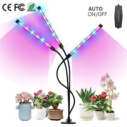 Amazon.com: Grow Light, MOER SKY 27W LED Grow Lamp Bulbs ...