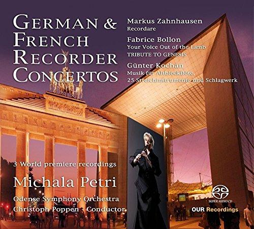 - German & French Recorder Concertos