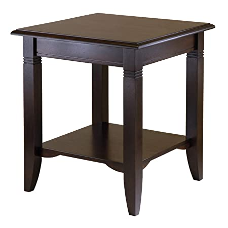 Winsome Wood 40220 Nolan Occasional Table, Cappuccino