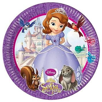 Disney - Cubertería para fiestas Princesa Sofia (Procos 71515): Amazon.es: Juguetes y juegos