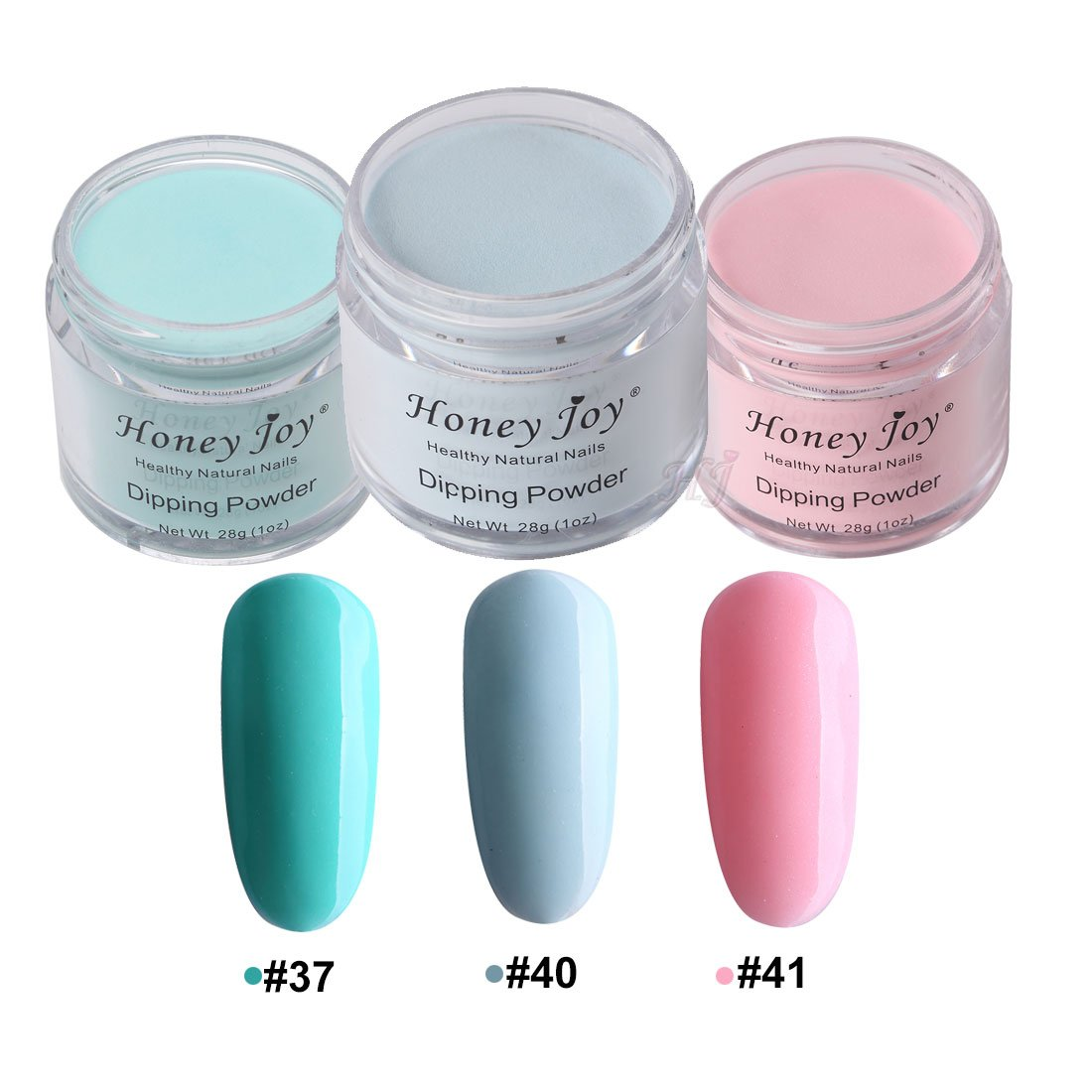 Amazon.com: 3pcs 28g/Box Blue Colorful Dipping Powder Without Lamp ...