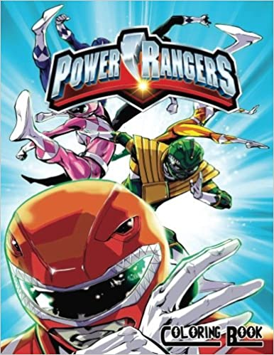 Amazon.com: Power Rangers Coloring Book: Coloring Book for Kids and ...