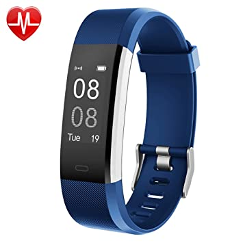fitness armbanduhr toobur wasserdicht fitness tracker mit. Black Bedroom Furniture Sets. Home Design Ideas