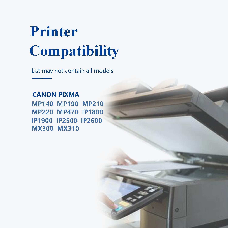 Caidi PG-37 CL-38 Cartuchos de Tinta para Impresora Canon Pixma ...