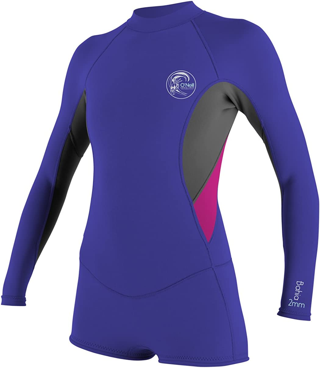 O Neill Wetsuits Women s Bahia Long Sleeve Spring Suit