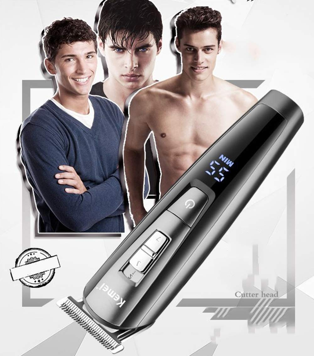 LUBANF Rechargeable Hair Trimmers Professional Cordless Electric Hair Clipper Razor Cutter Barber Styled Beard Shaver