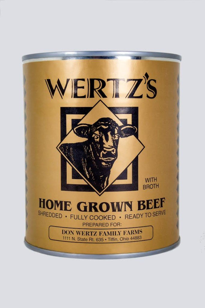 Wertz's All Natural Beef and Pork Variety 2 pack