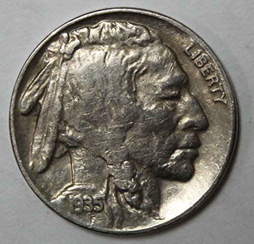 1935 S Buffalo Nickel 5c Extremely Fine-About ()
