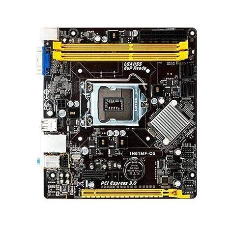 Biostar IH61MF-Q5 - Placa Base (Intel, LGA 1155 (Socket H2 ...