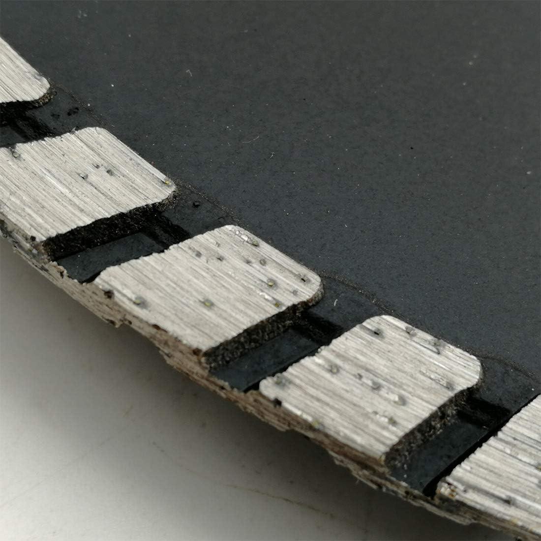 SHDIATOOL Diamant-Trennscheibe 180mm x M14 mit Turbo schr/ägen Schutzz/ähnen f/ür Beton Backstein Fliese Granit Marmor Mauerwerk