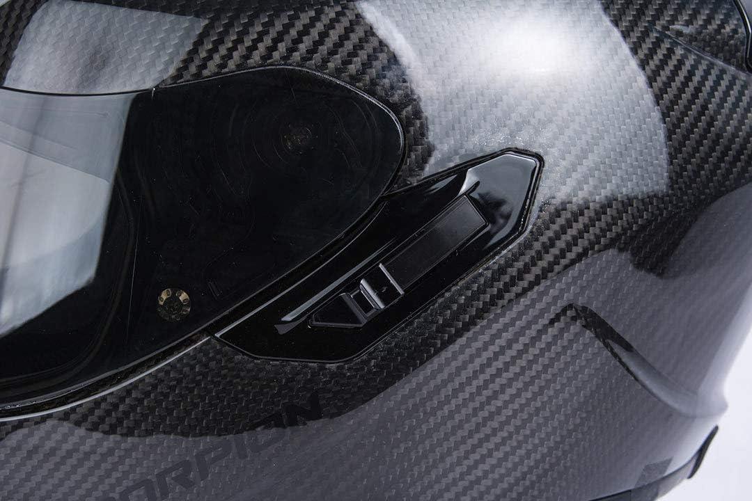 Black Size XS Scorpion EXO 1400 AIR SOLID Motorcycle Helmet
