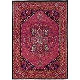 Oriental Weavers 1332S Kaleidoscope Area Rug, 5′ 3″ x 7′ 6″, Pink/Blue Review