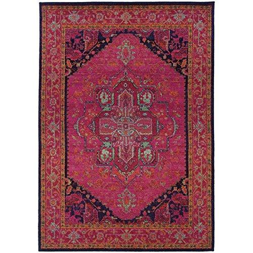 Oriental Weavers 1332S Kaleidoscope Area Rug, 6' 7