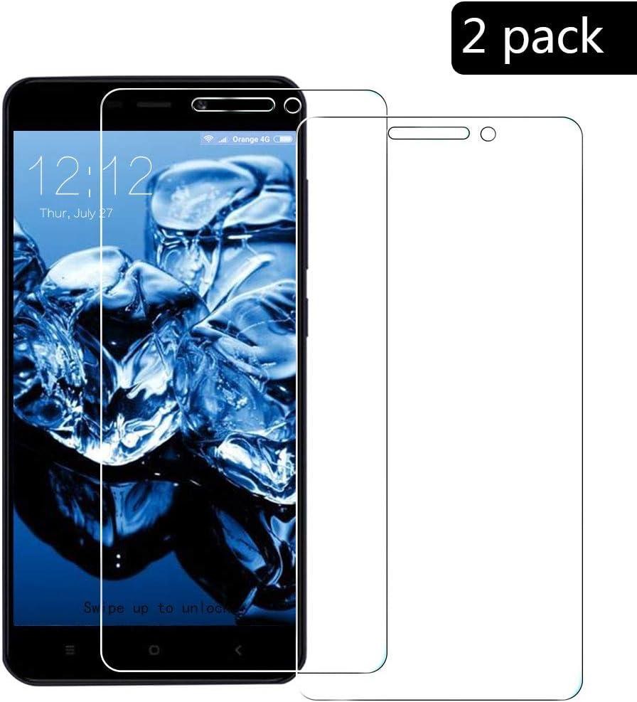 2-Paquetes]para Xiaomi Redmi 4A Protector de Pantalla,XCYYOO ...