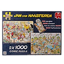 Jan van Haasteren Special Edition Food Frency Jigsaw Puzzle Collection (2000 Pieces)