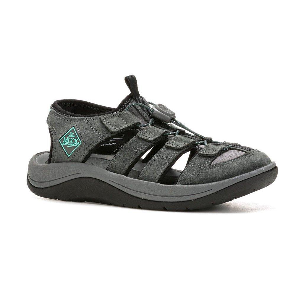 Muck Boot Women's Wanderer Sandals, Grey, 8 M