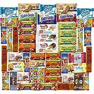 Ultimate Healthy Bar & Snacks Gift Variety Pack Bulk Sampler (Care Package 50 Count)