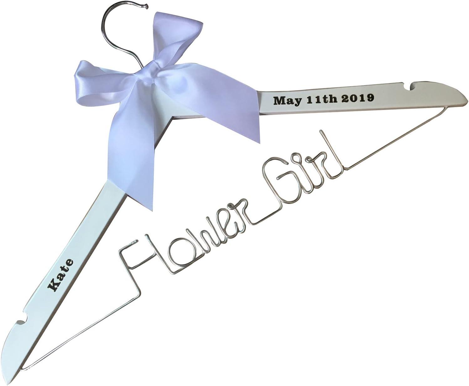 Flower girl laser cut hanger,wedding hanger,children hanger,Personalized Hanger,Custom hanger,wedding hanger,wedding dress hanger