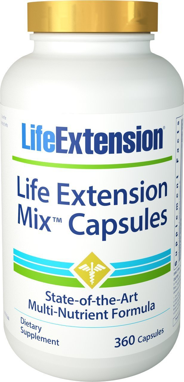 Life Extension Mix Capsules – 360 capsules