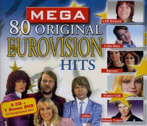 Mega Eurovision 80 Dvd Hits