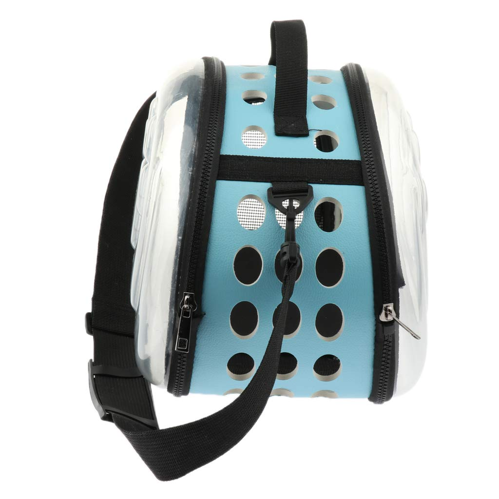bluee L Baosity Portable Travel Pet Carrier Backpack Waterproof Handbag Backpack for Small Dog Cat bluee L