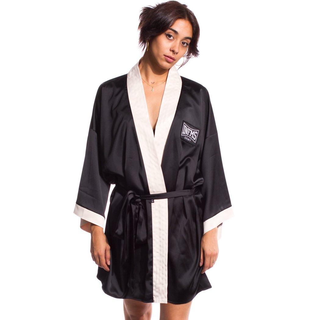 TALLA M. Grimey Kimono Chica The Gatekeeper FW17 Black