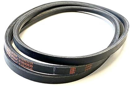 55 Length D/&D PowerDrive 1008349 MTD or CUB Cadet Kevlar Replacement Belt Aramid