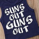 Toddler Baby Boys Sun's Out Guns Out Tank Top
