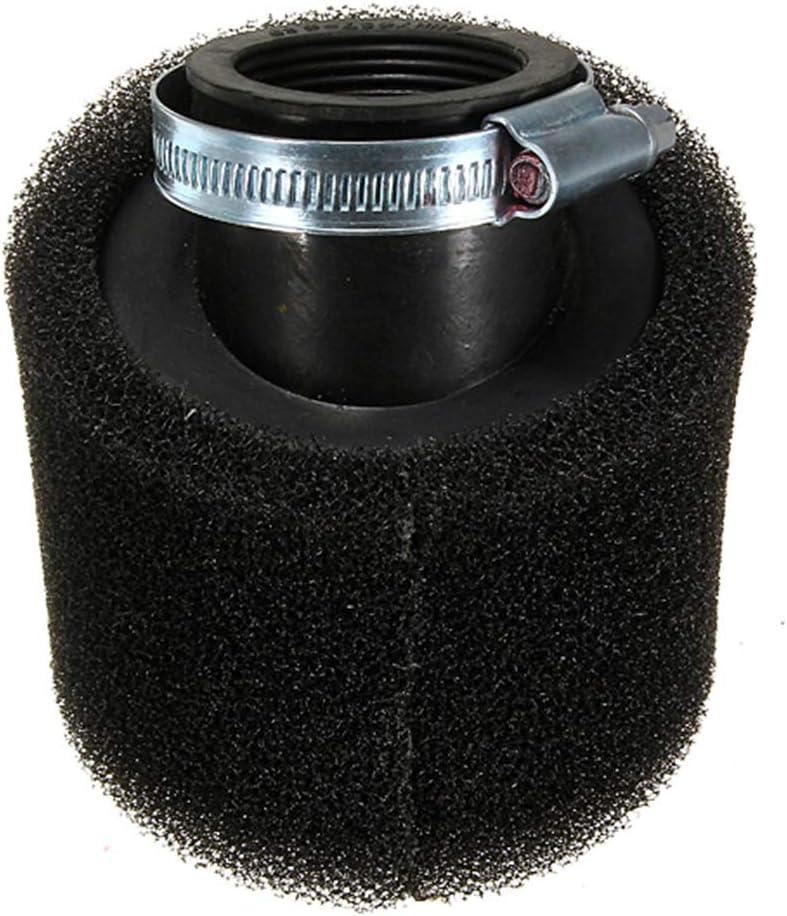 Hanbaili Nettoyeur de filtre /à air /à double angle en mousse de 40 mm pour 50cc 90cc 110cc GY6 Moto//VTT//Scooter//Quad Go Kart//Cyclomoteur//Pit//Dirt Bike
