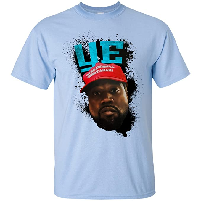 9aa49498 Amazon.com: Libertee Shirts Kanye West Ye' Shirt, Make America Great Kanye  Trump t-Shirt: Clothing