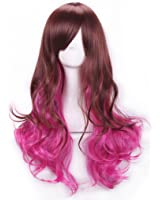 """S-ssoy Heat-Resistant 26"""" Harajuku/Lolita Style Curly Gradient Color Full Wig hair hairpieces"""