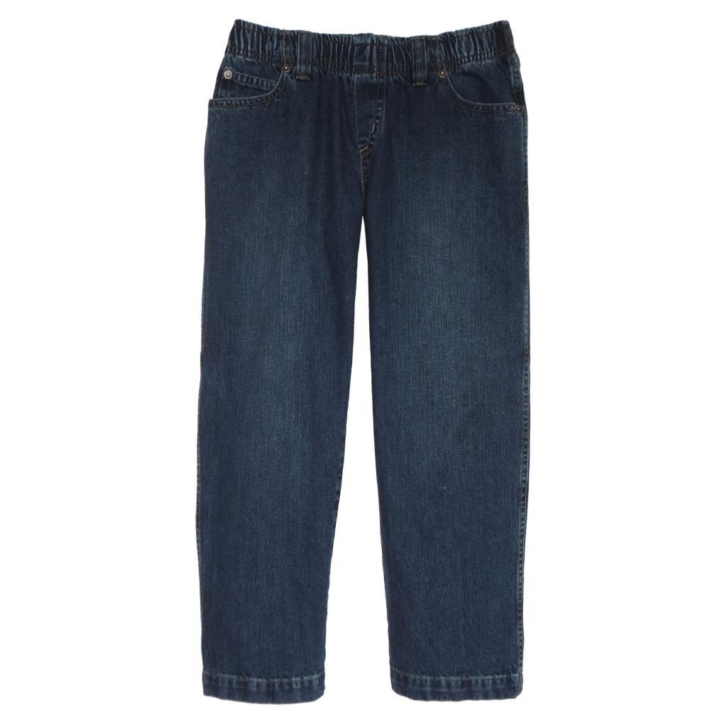 a07cb4d3f Amazon.com  Daniel Jacob Big Boys  Husky Denim Jeans Full Elastic  Clothing