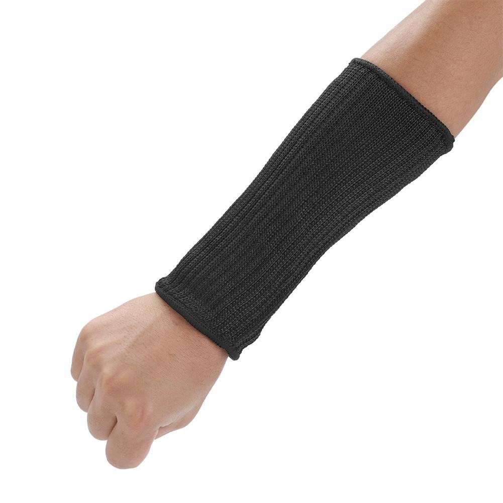 Akozon Cut-resistant Sleeves,1 Pair Guard Prevent Scrapes Scratches Skin Irritations UV-Protection Anti-cut Arm cover(20cm)