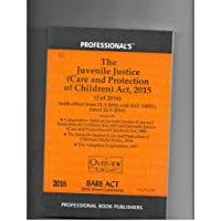 Juvenile Justice (Care & Protection of Children) Act, 2015 alongwith Rules & Regulations
