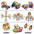 Magnetic Blocks, Magnetic Building Blocks Set 92 PCS, Magnetic Tiles, Educational Toys for Baby/ Kids by IMDEN