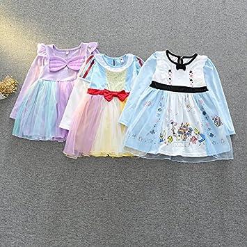 217508ea26715 m146 白雪姫ドレス プリンセスドレス 人魚姫 アリエルドレス キッズ アリス 子供用ドレス 女の子 子供