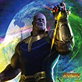 Skinit Thanos PS4 Slim Bundle Skin - Avengers Infinity War Series 2 | Marvel Skin