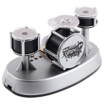Amazoncom Mini Finger Touch Desktop Drum Set Electronic Toy Music
