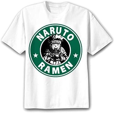TSHIMEN Camisetas Hombre One Piece Naruto 2018 Camiseta Hombre/Mujer/niños japón Anime FUUNY Camisetas Camiseta Superior m Blanco: Amazon.es: Ropa y accesorios