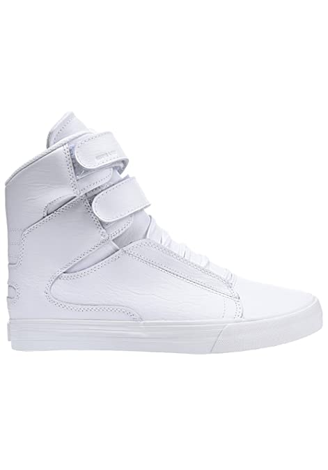 e9652e068f6d Supra Men Shoes Sneakers Society II White 47.5  Amazon.co.uk  Shoes ...