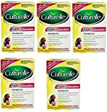 Culturelle Kids Chewables Daily Probiotic Formula, (Package may vary) 30 Count (5 Pack)