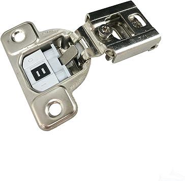 "25x Salice 106 Deg 1//2/"" Overlay Screw on Soft Close 2 Cam Cabinet Hinge CUP37D9"