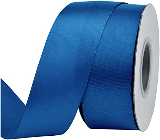 50mm Satin Ribbon Bows Double Sided 10 25 50 Packs 95x50mm Overall Size Bow