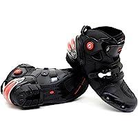 NEW Men's Motorcycle Racing Boots Black US 11