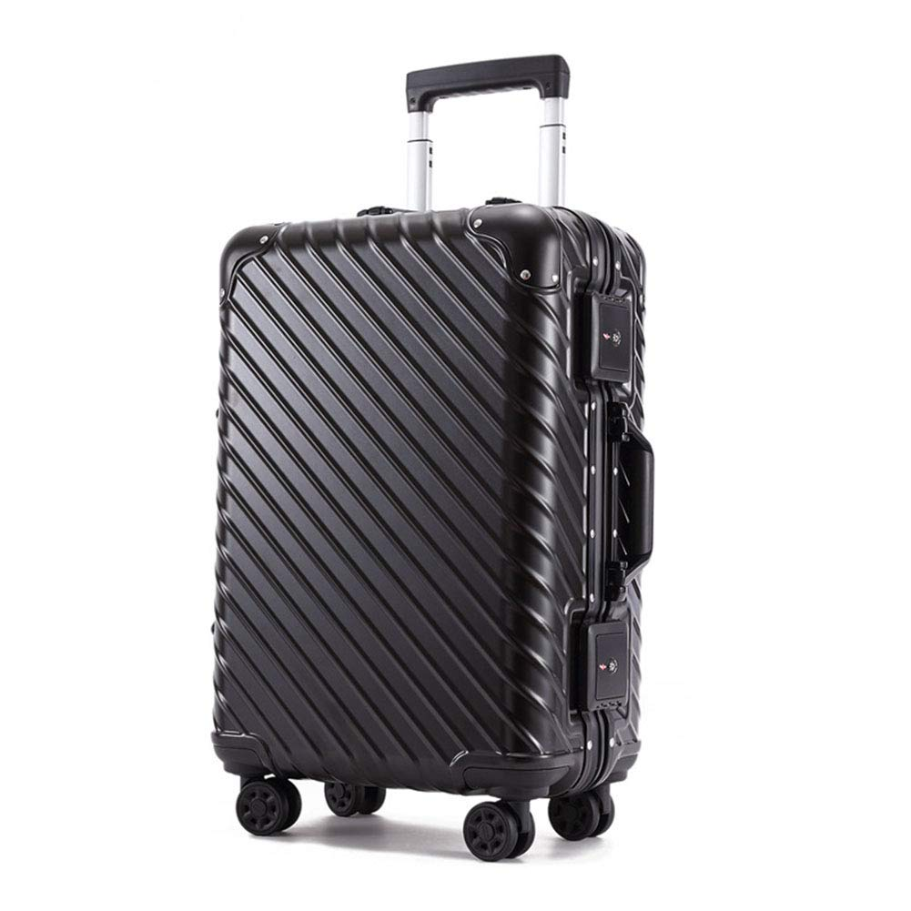 A 25inch ABS+PC Suitcase, All Aluminum Frame Trolley Case, Trunk Universal Wheel Suitcase